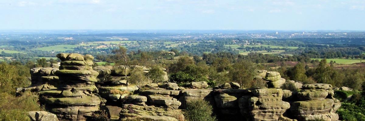 Brimham Rocks Nidderdale