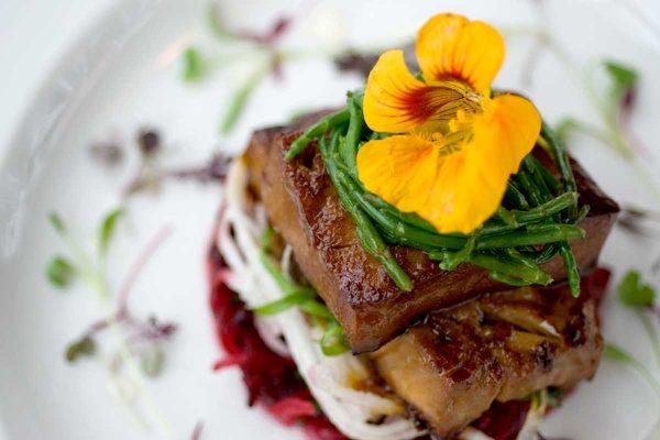 Tofu Beetroot Mooli Wasabi Recipe