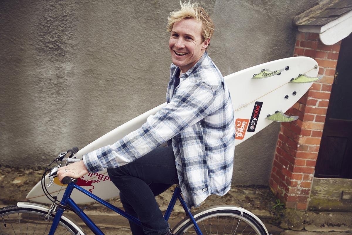 Andrew Cotton Red Bull Surfer Bike