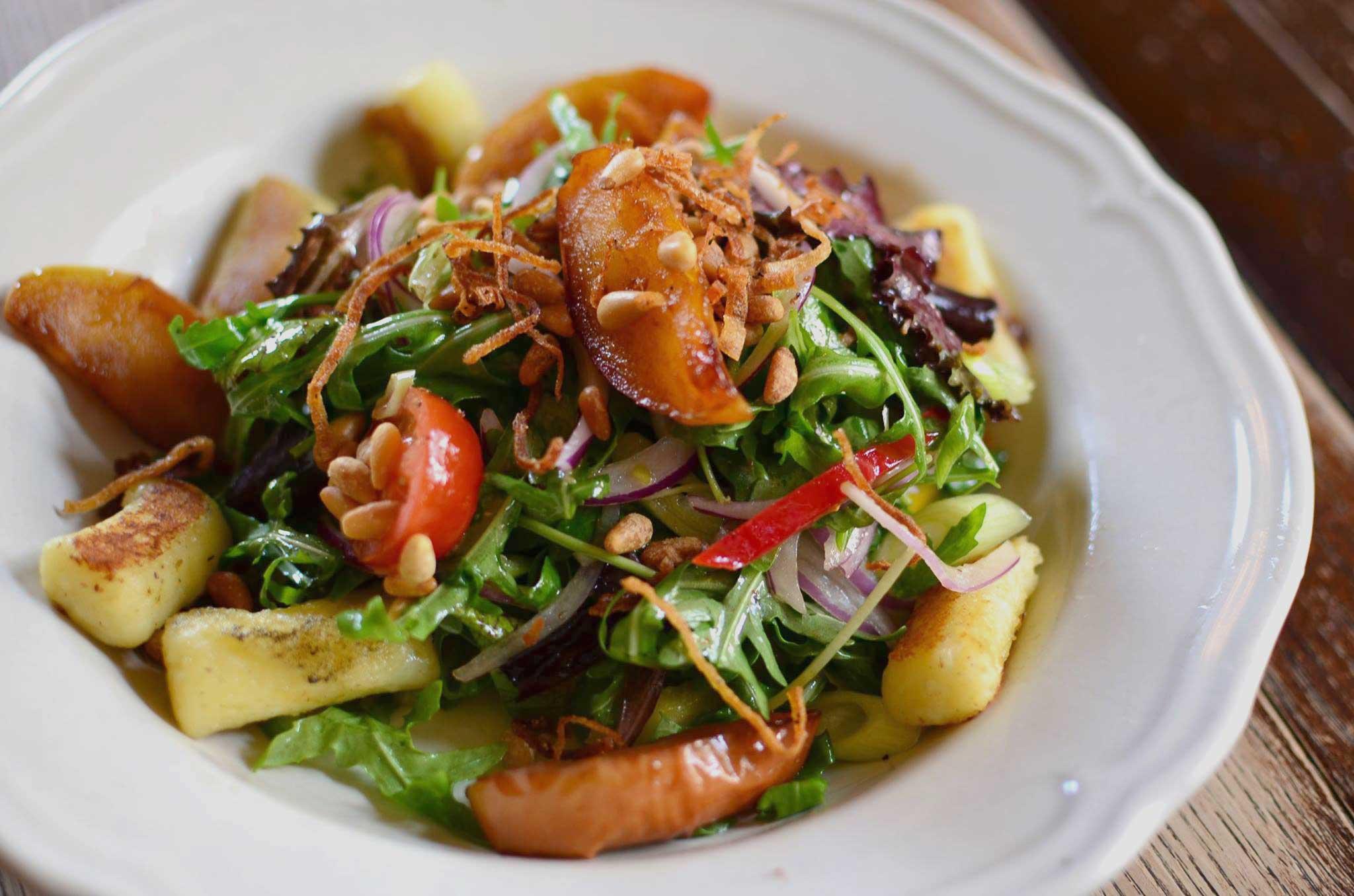Gnosh the Gnoochi and Apple Salad - recipe