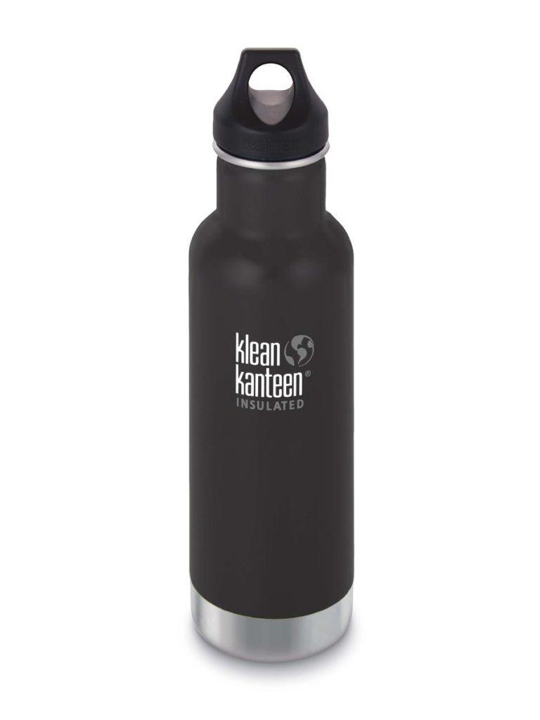 Klean Kanteen Classic Insulated Steel Water Bottle 592ml Black