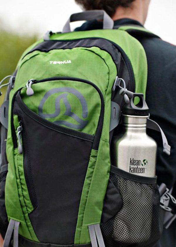 Klean Kanteen Classic Steel Water Bottle 1182ML Backpack