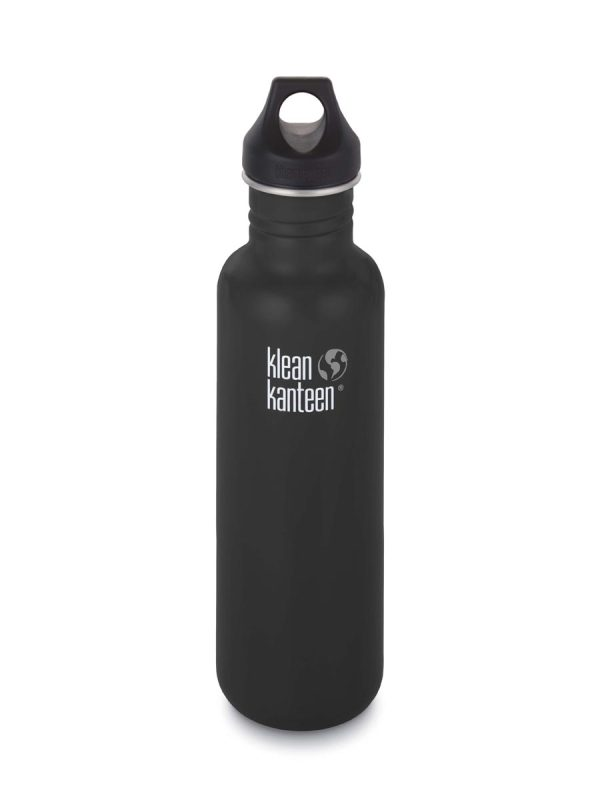 Klean Kanteen Classic Water Bottle 20oz 800ml Black