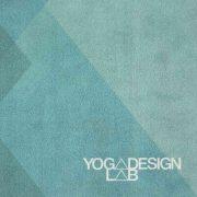 Yoga Design Lab Collage Green Travel Yoga Mat Font