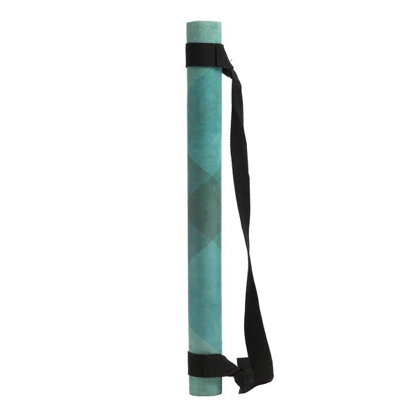 Yoga Design Lab Collage Green Travel Yoga Mat Strap
