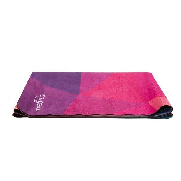 Yoga Design Lab Geo Travel Yoga Mat Colour Fold