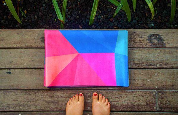 Yoga Design Lab Geo Travel Yoga Mat Strap