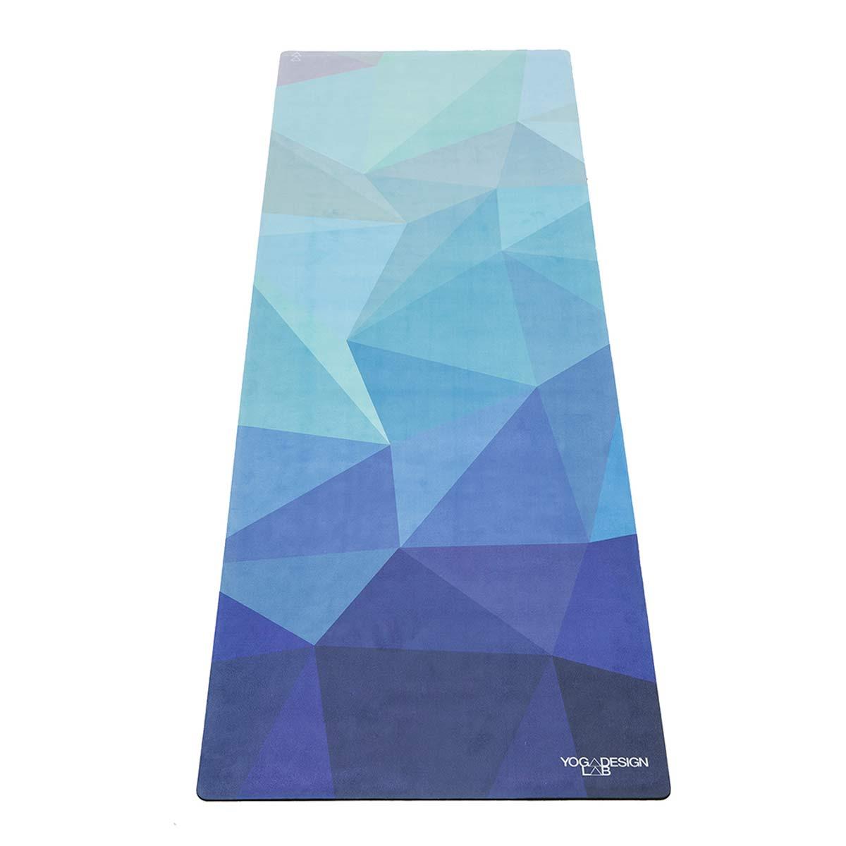 Geo Blue Combo Yoga Mat Supawell