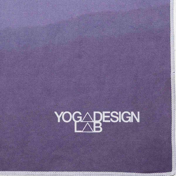Yoga Design Labs Hot Yoga Towel Breathe Font