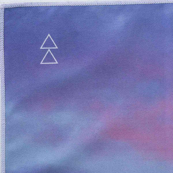 Yoga Design Labs Hot Yoga Towel Breathe Logo