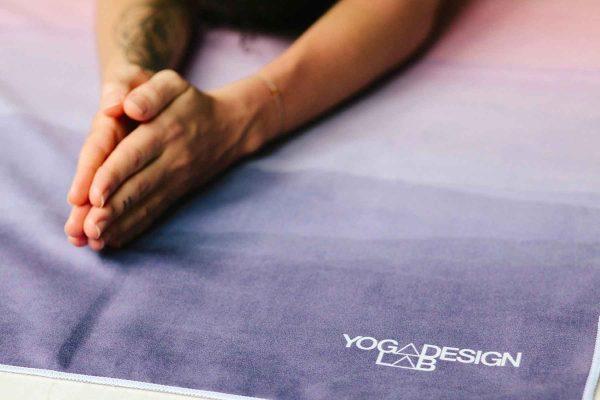 Yoga Design Labs Hot Yoga Towel Breathe Ohm