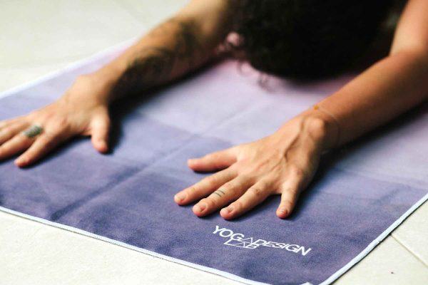 Yoga Design Labs Hot Yoga Towel Breathe Stretch