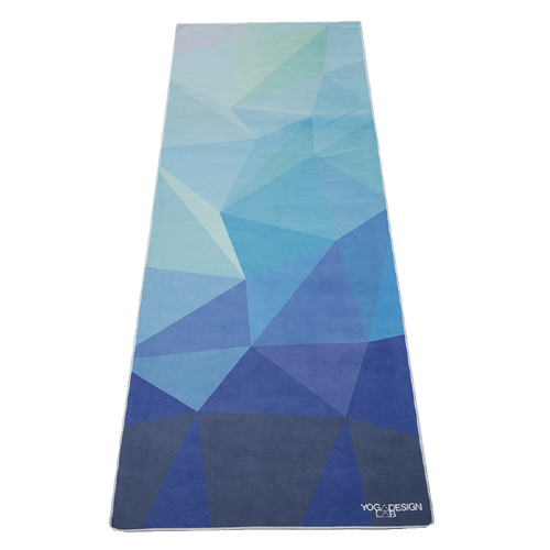 Yoga Design Labs Hot Yoga Towel Geo Blue