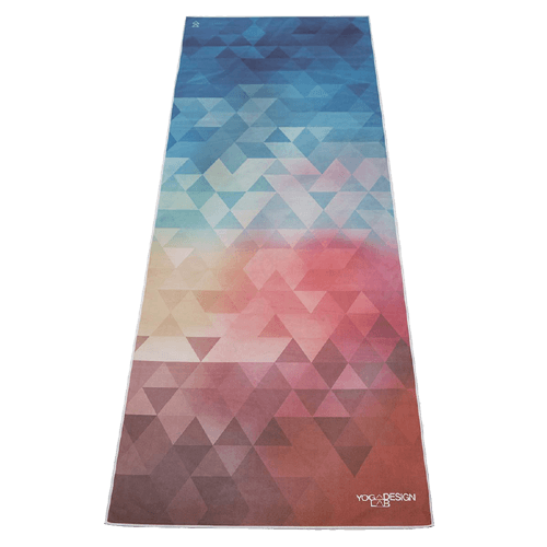 Yoga Design Labs Hot Yoga Towel Tribeca Love