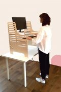 Dogs Bone Stand Up Desk Desktop - Supawell