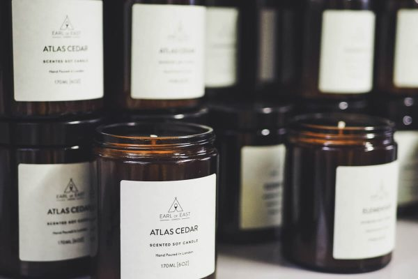 Atlas Cedar Earl of East London Scented Candle