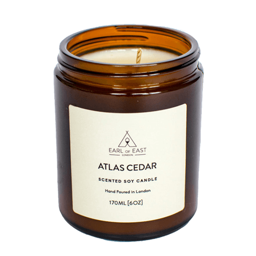Atlas Cedar Scented Candle - Earl of East London