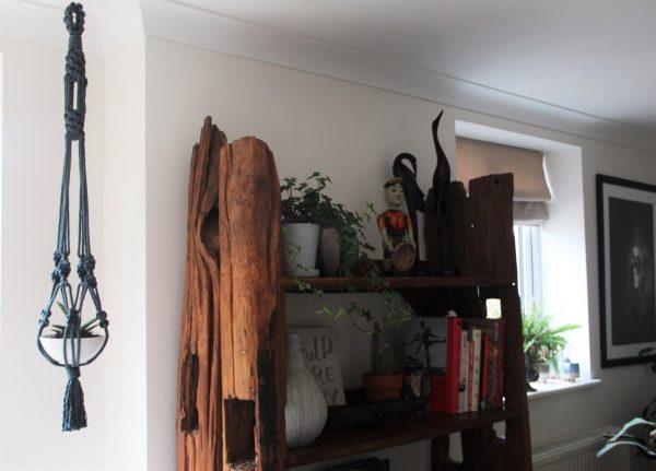 Chunky Macrame Planter Hanger - handmade