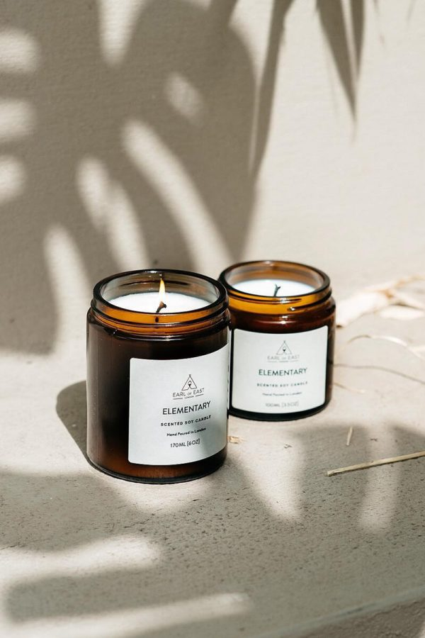 Elementary Scented Candle - Earl of East London