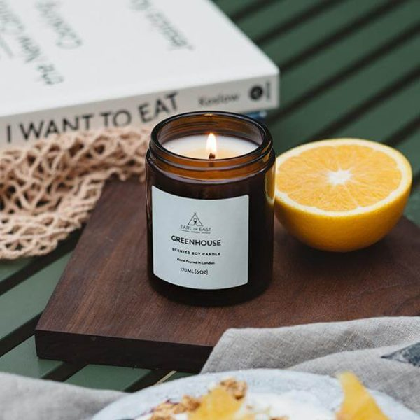 Greenhouse Scented Candle - Breakfast Scent - Earl of East London