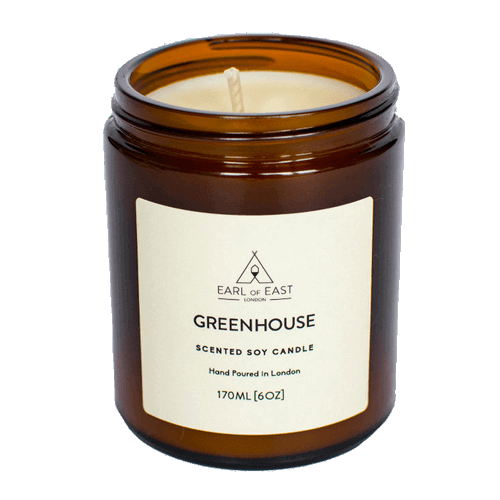 Greenhouse Scented Candle - Earl of East London