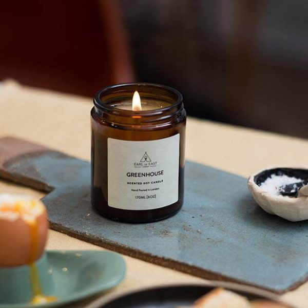 Greenhouse Scented Candle - at the table - Earl of East London