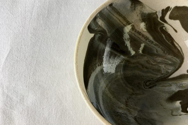 Marbled Bowl - Bisila Noha Ceramics