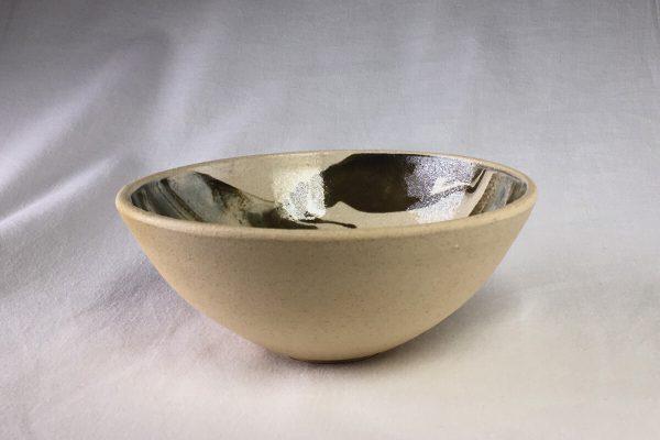 Marbled Bowl - Wheel Thrown - Bisila Noha Ceramics