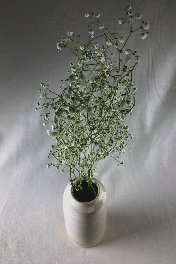 Marbled Vase - handmade - Bisila Noha Ceramics