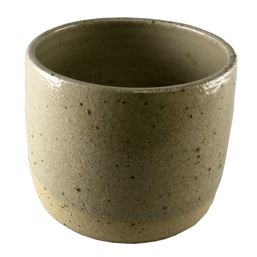 Medium Speckled Plant Pot - Bisila Noha Ceramics