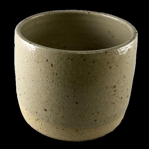 Medium Speckled Plant Pot - Bisila Noha Ceramics