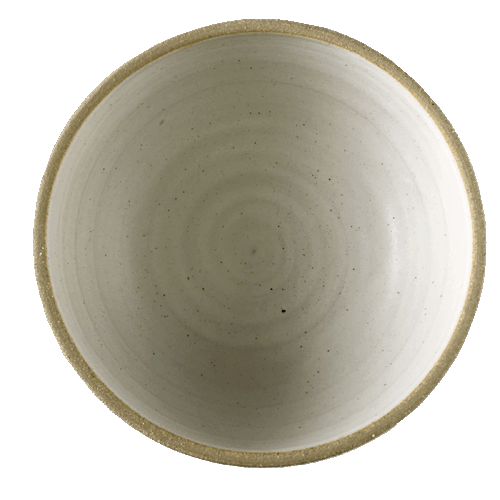 Medium White Sprial Bowl - Ned Davies Ceramics
