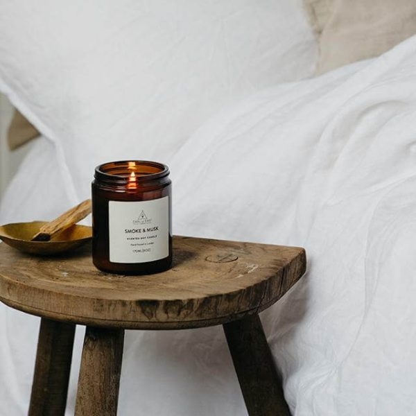 Smoke and Musk Scented Candle - Stool - Earl of East London