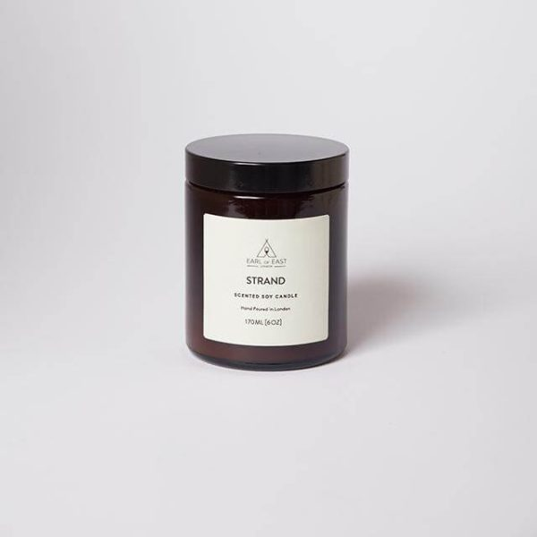 Strand Scented Candle - with lid - Earl of East London