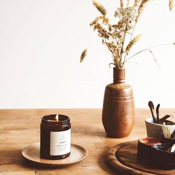 Viagem Scented Candle - dried- flowers - Earl of East London
