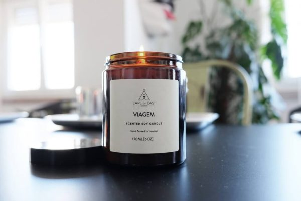 Viagem Scented Candle - table -Earl of East London
