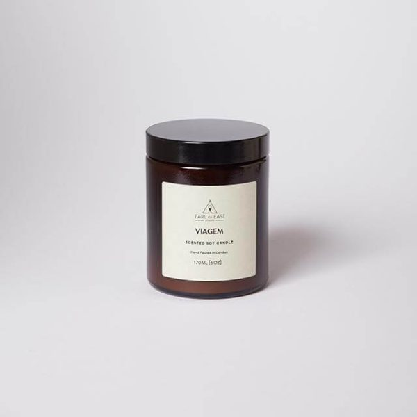 Viagem Scented Candle - with lid - Earl of East London