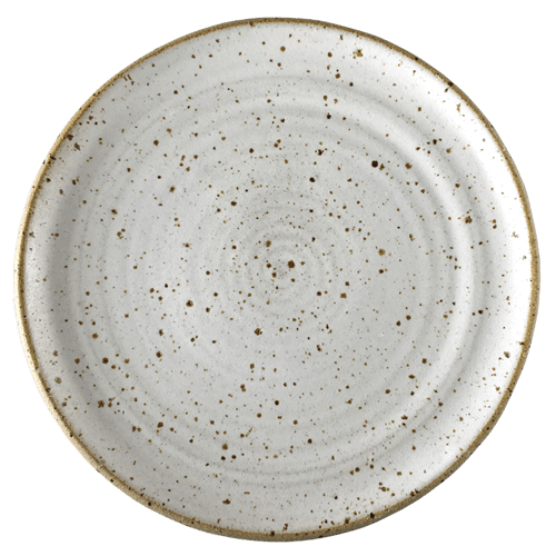 White Speck Side Plate - Ned Davies Ceramics
