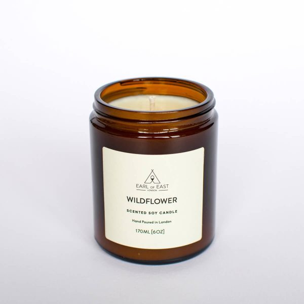 Wildflower Scented Candle - Earl of East London
