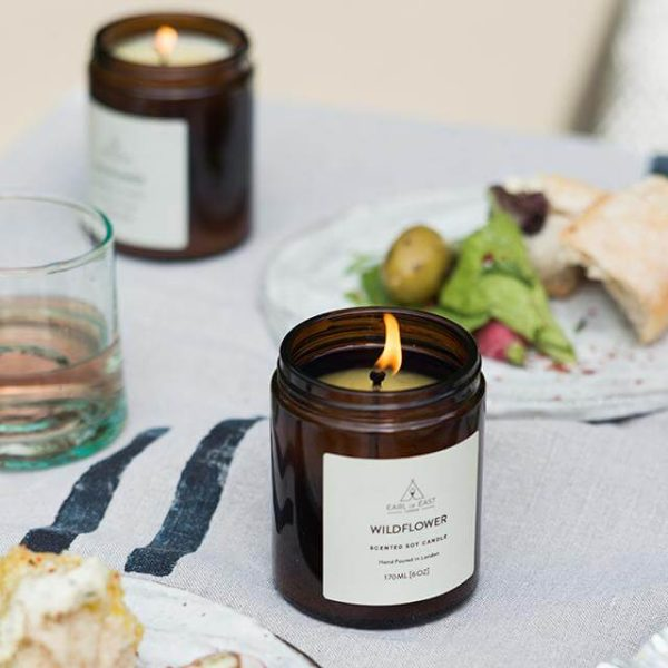 Wildflower Scented Candle - lunch - Earl of East London