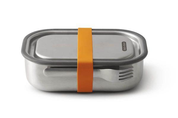 Black+Blum Stainless Steel Lunch Box - Orange