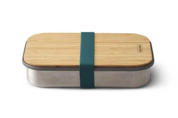 Black+Blum Wood Stainless Steel Sandwich Box - Ocean