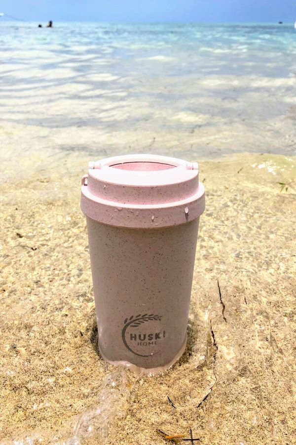 Huski Home 400ml Keep Cup Rice Husk - Rose Sand