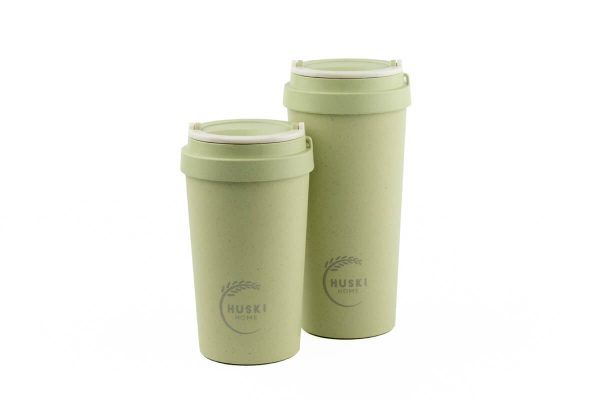 Huski Home Rice Husk Keep Cup 500ml 400ml - Pistachio