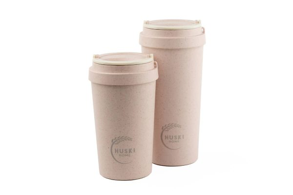 Huski Home Rice Husk Keep Cup 500ml 400ml - Rose