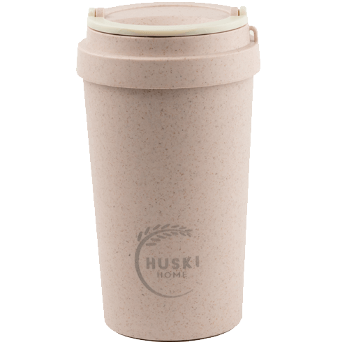 Huski Rice Husk Keep Cup 400ml - Rose