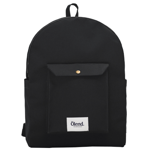 Mambo Laptop Black - Olend Backpacks