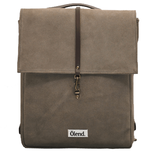 Mini Holden Leather Piedra - Olend Backpack