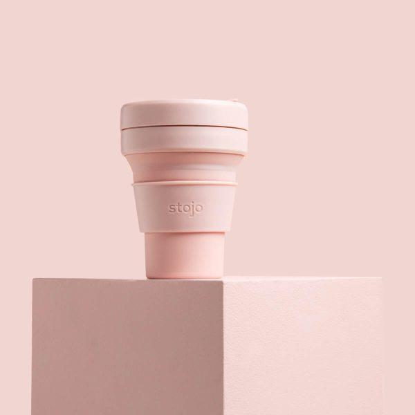 Stojo Collapsible Travel Mug - Carnation