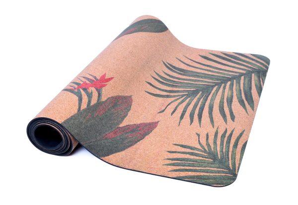 Cork Rubber Supawell Yoga Mat - Paradise Roll